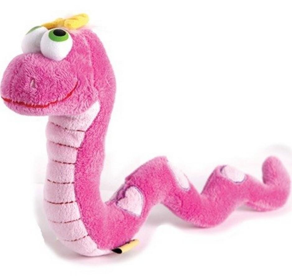 Мягкая игрушка - Змейка, 27 смРазное<br>Мягкая игрушка - Змейка, 27 см<br>
