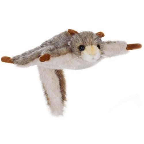 Мягкая игрушка - Белка летяга, 21 см.Дикие животные<br>Мягкая игрушка - Белка летяга, 21 см.<br>