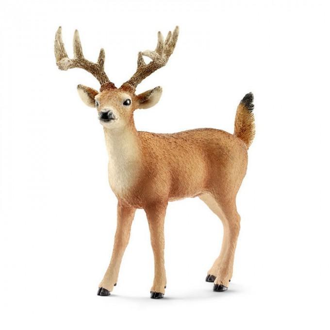 Купить Фигурка - Олень средние рога, размер 10 х 4 х 11 см., Schleich