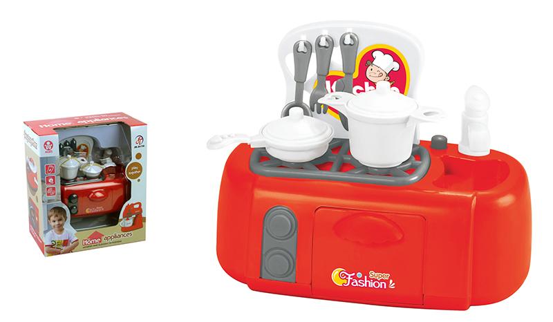 Детская мини плита – Помогаю маме, свет и звукАксессуары и техника для детской кухни<br>Детская мини плита – Помогаю маме, свет и звук<br>
