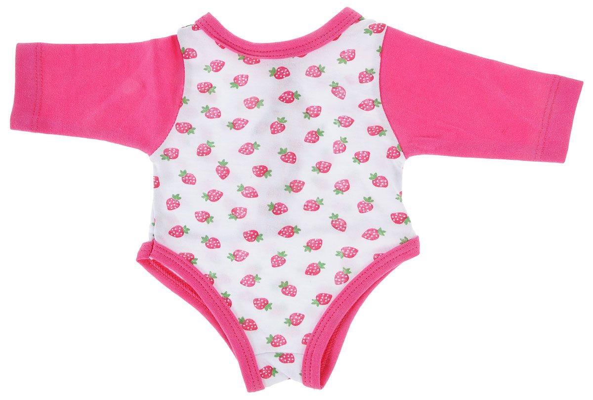 Комплект одежды для куклы Карапуз - Боди с длинным рукавом, 40-42 смОдежда для кукол<br>Комплект одежды для куклы Карапуз - Боди с длинным рукавом, 40-42 см<br>