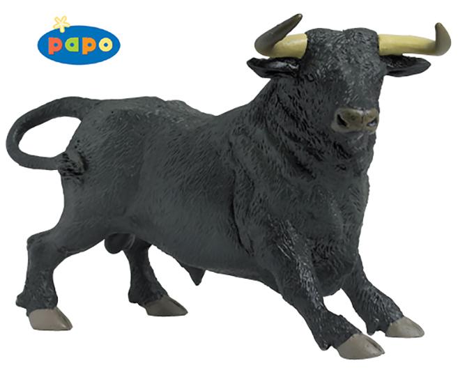 Игровая фигурка – Испанский быкНа ферме (Farm life)<br>Игровая фигурка – Испанский бык<br>
