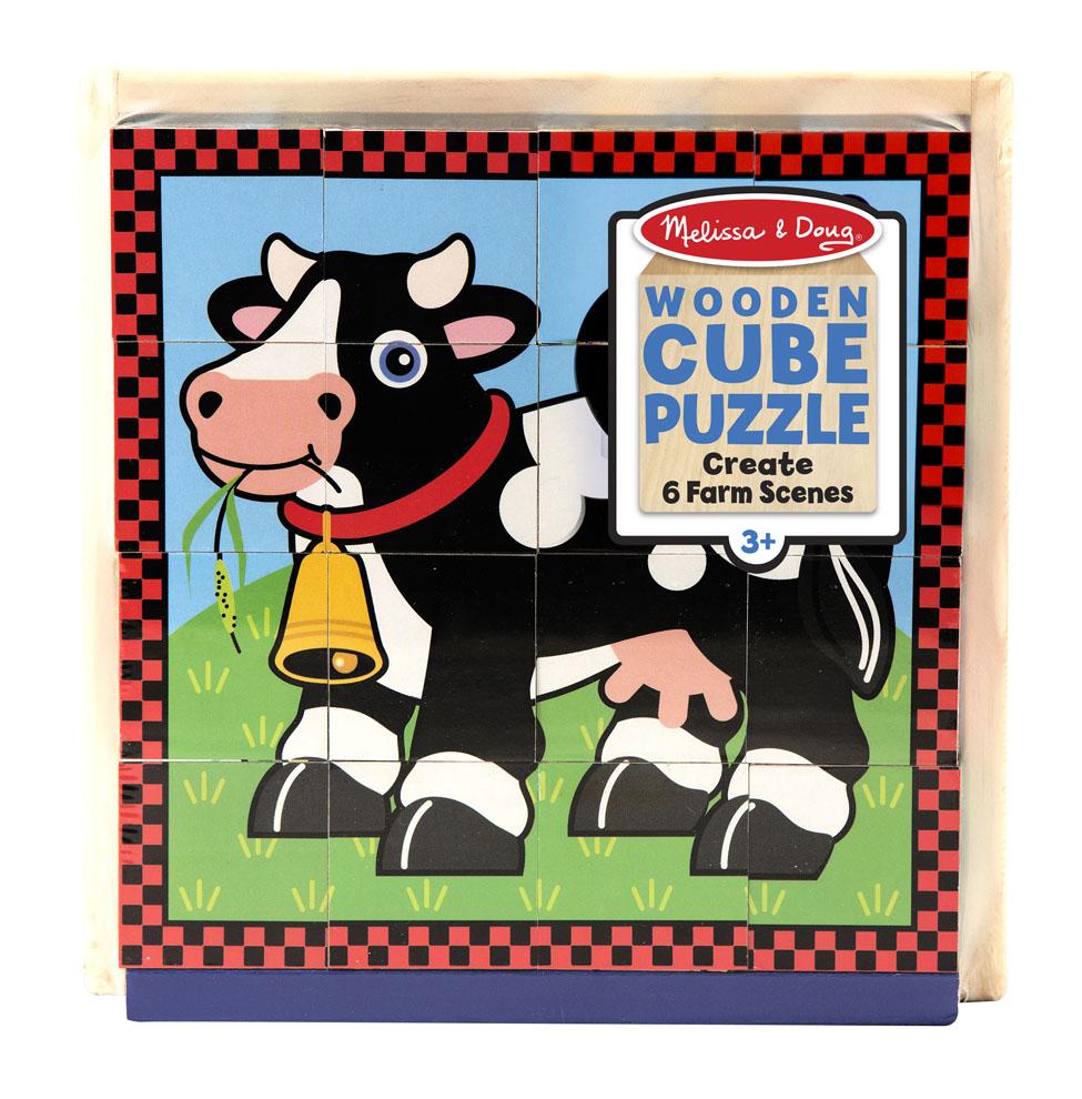 Пазл из кубиков – ФермаКубики<br>Пазл из кубиков – Ферма<br>
