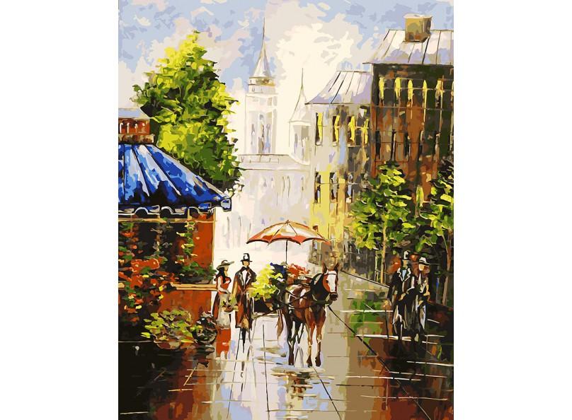 Раскраски по номерам - Картина «Мотивы старого города», 40 х 50 см.Раскраски по номерам Schipper<br>Раскраски по номерам - Картина «Мотивы старого города», 40 х 50 см.<br>