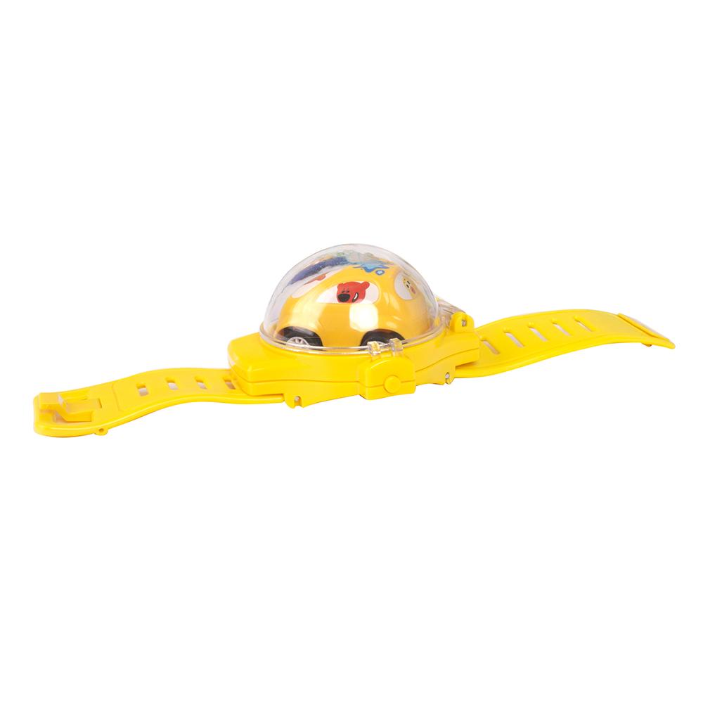Игровой набор Ми-Ми-Мишки - Кеша, инерционная машинка в желтых часах фото