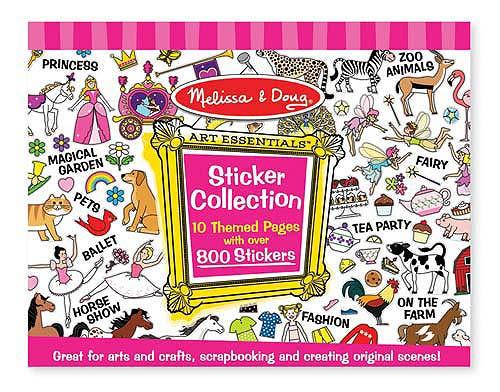Купить Набор стикеров - Розовый из серии Творчество, Melissa&Doug
