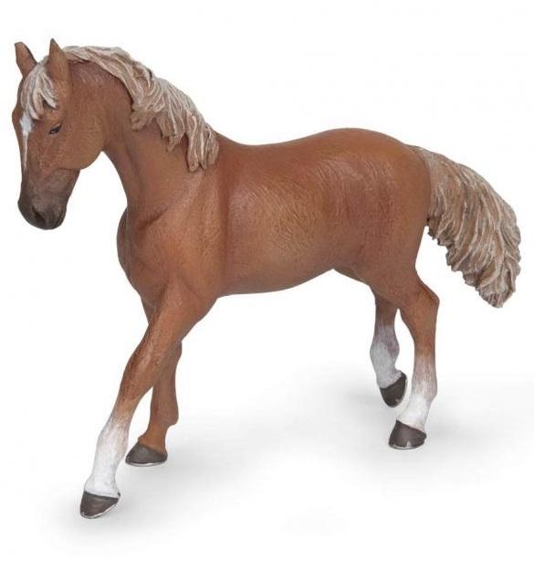 Фигурка - Рыжая верховая лошадьЛошади (Horse)<br>Фигурка - Рыжая верховая лошадь<br>