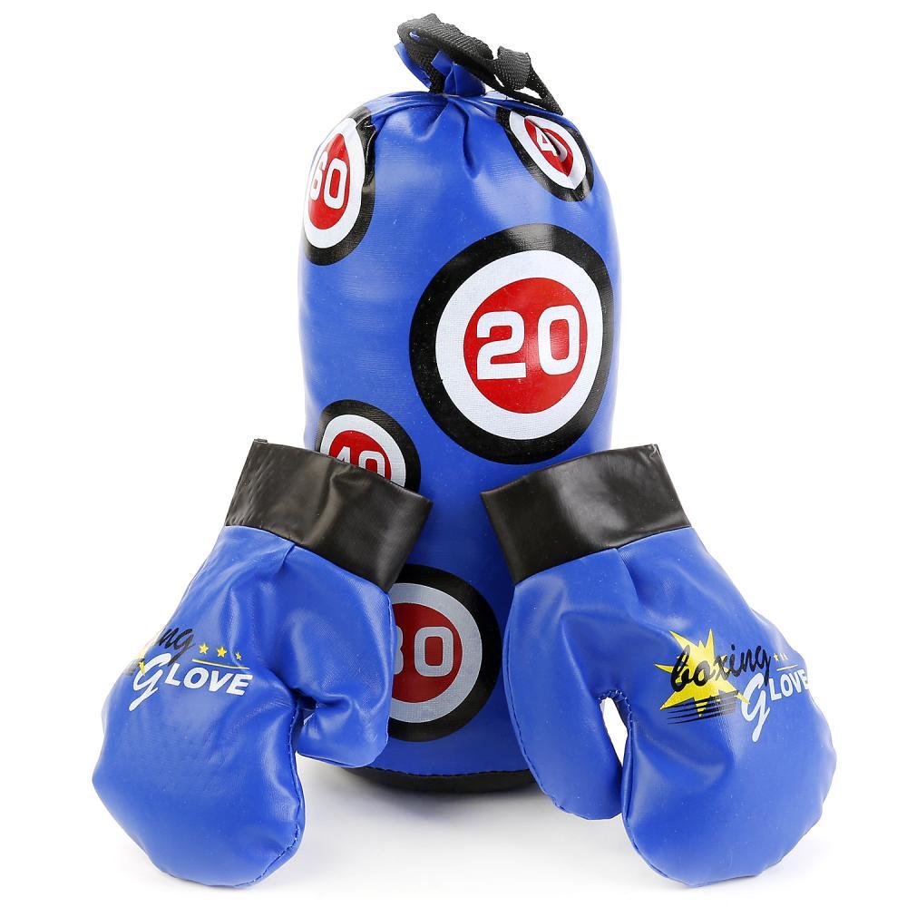 Купить Набор для бокса, груша, перчатки, 31 см