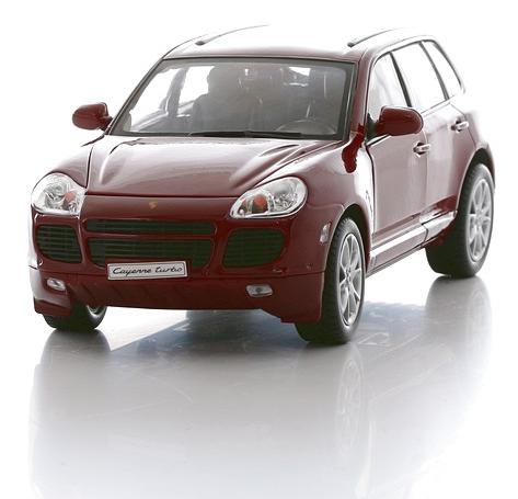 Коллекционная машинка Porsche Cayenne Turbo, масштаб 1:18