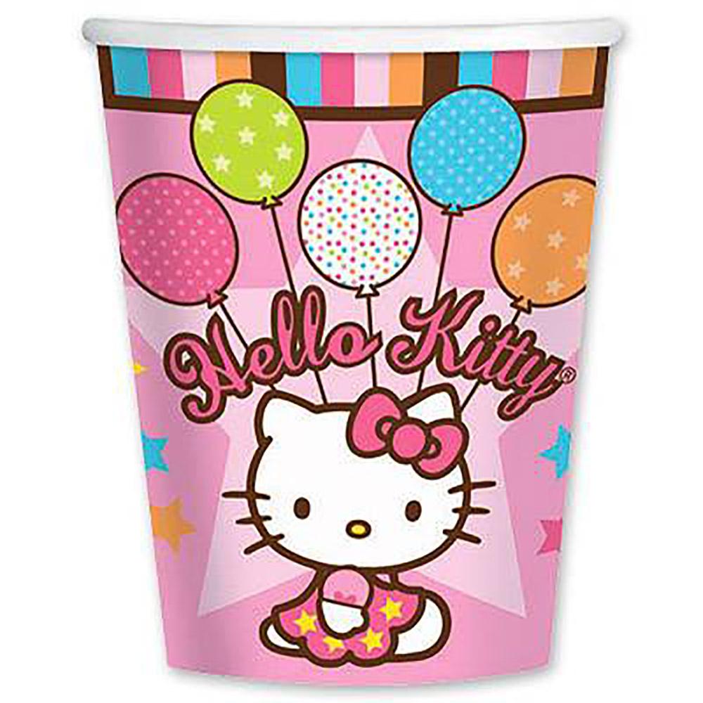 Стакан Hello Kitty, 8 шт.Прочие серии<br>Стакан Hello Kitty, 8 шт.<br>