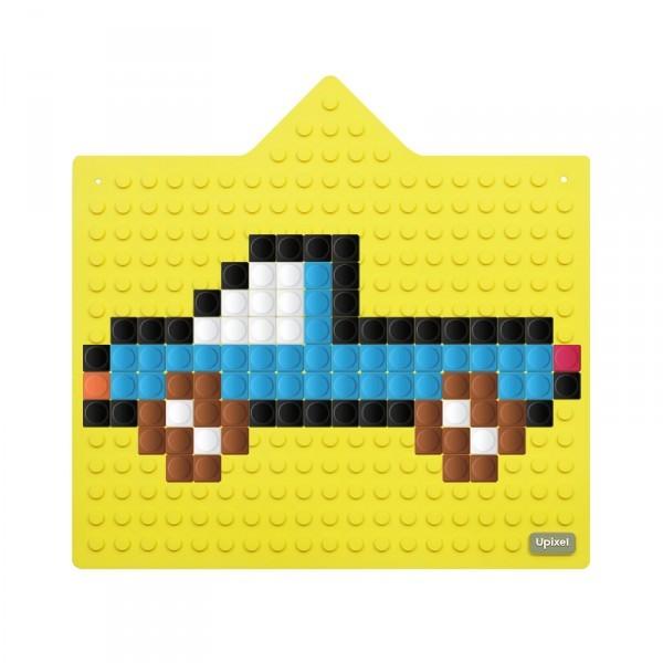 Интерактивная пиксельная панель Bright Kiddo WY-K001, цвет - банановый желтый фото
