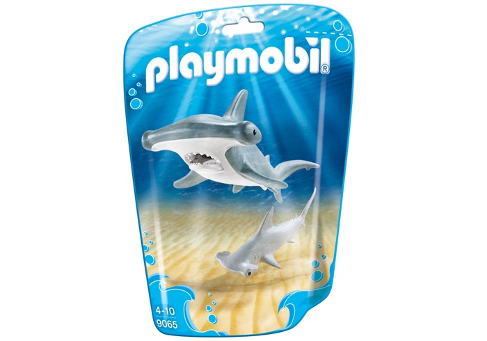 Купить Игровой набор из серии Аквариум - Молотоголовая акула с детенышем, Playmobil
