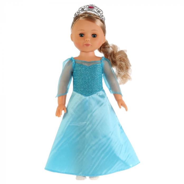Купить Кукла озвученная – Принцесса София в голубом, 46 см., 100 фраз, Карапуз