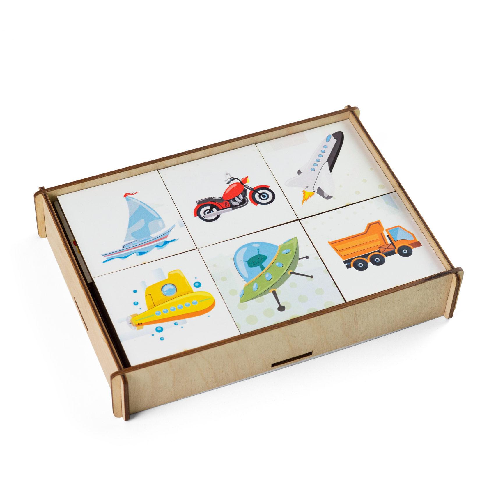 Игровой набор – Мемори. Транспорт фото