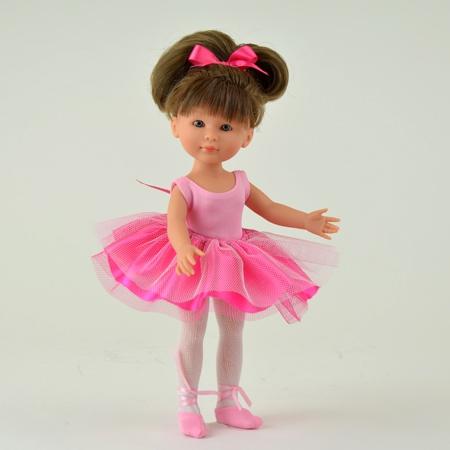 Кукла Селия в юбке-пачке и пуантах, 30 см.Куклы ASI (Испания)<br>Кукла Селия в юбке-пачке и пуантах, 30 см.<br>