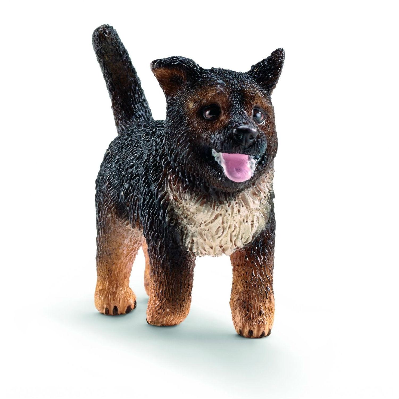 Купить Фигурка Dogs & Puppies - Немецкая овчарка щенок, Schleich