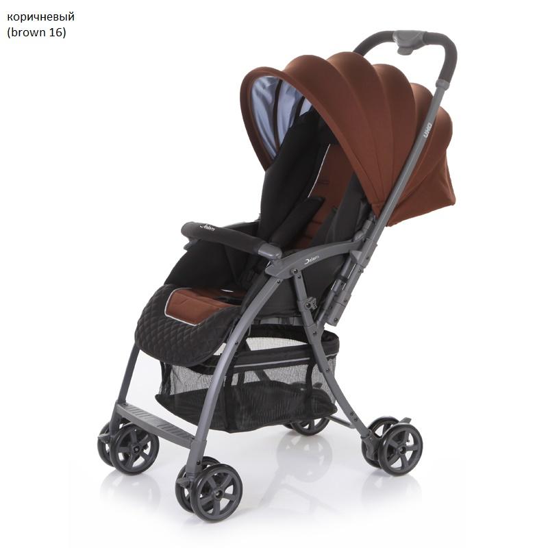 Детская прогулочная коляска – Uno, коричневый 16Детские прогулочные коляски<br>Детская прогулочная коляска – Uno, коричневый 16<br>