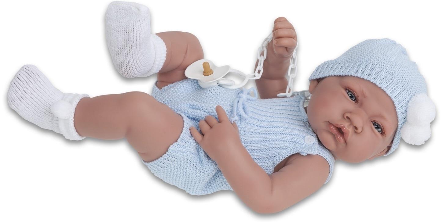 Кукла-младенец Хосе, 42 см.Куклы Антонио Хуан (Antonio Juan Munecas)<br>Кукла-младенец Хосе, 42 см.<br>