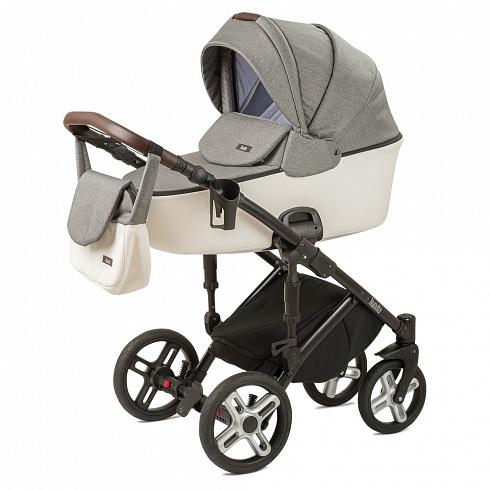 Купить Детская коляска Nuovita Carro Sport 2 в 1, Grigio bianco/Серо-белый
