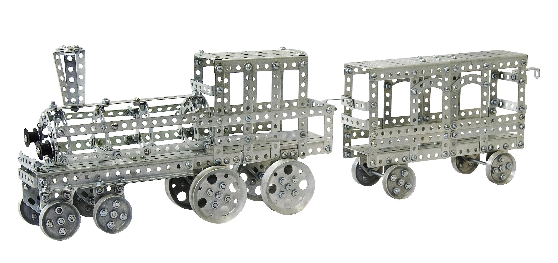 Конструктор металлический. Железная дорогаМеталлические конструкторы<br>Конструктор металлический. Железная дорога<br>