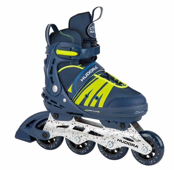 Ролики Inline Skates Comfort, цвет - deep blue, размер 35-40 фото