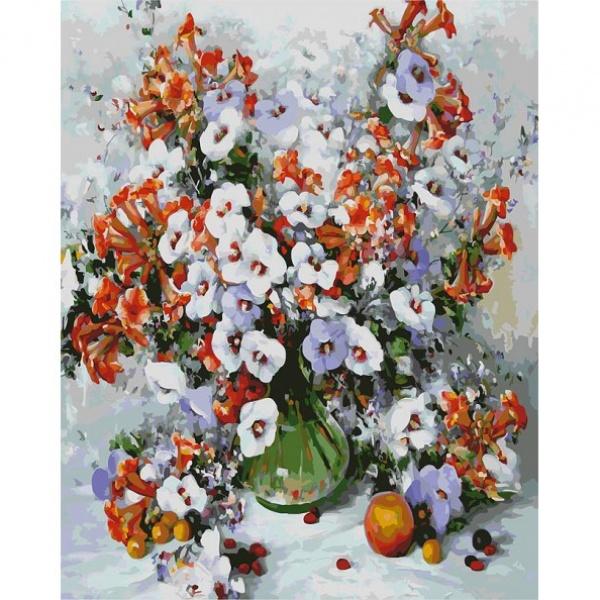 Раскраски по номерам - Картина «Городские цветы», 40 х 50 см.Раскраски по номерам Schipper<br>Раскраски по номерам - Картина «Городские цветы», 40 х 50 см.<br>