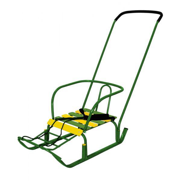 Санки детские Тимка 3, цвет - зеленыйСанки и сани-коляски<br>Санки детские Тимка 3, цвет - зеленый<br>