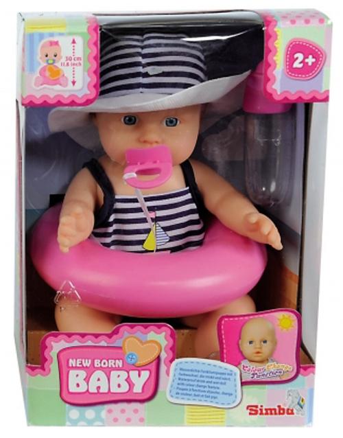 Кукла пупс в купальном костюме и с аксессуарами, 3 видаПупсы<br>Кукла пупс в купальном костюме и с аксессуарами, 3 вида<br>