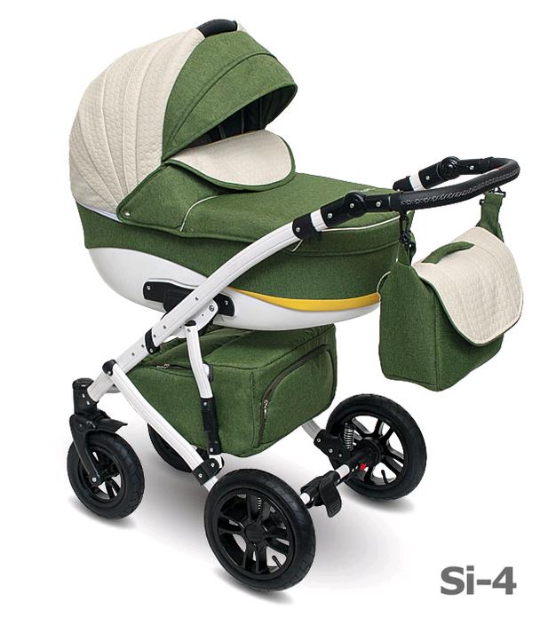Детская коляска Camarelo Sirion 2 в 1, цвет - Si_04Детские коляски 2 в 1<br>Детская коляска Camarelo Sirion 2 в 1, цвет - Si_04<br>