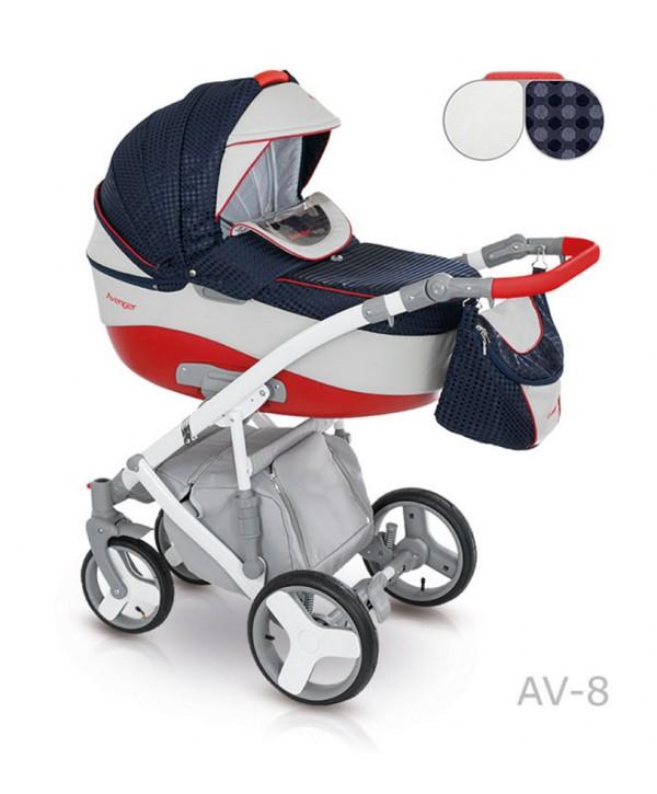 Детская коляска Camarelo Avenger Lux 2 в 1 - Av-08Детские коляски 2 в 1<br>Детская коляска Camarelo Avenger Lux 2 в 1 - Av-08<br>