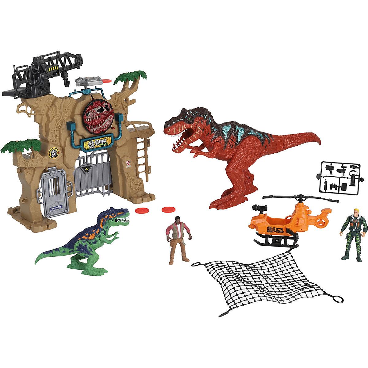 Игровой набор: Охота на динозавров. Штурм ворот, свет и звук фото