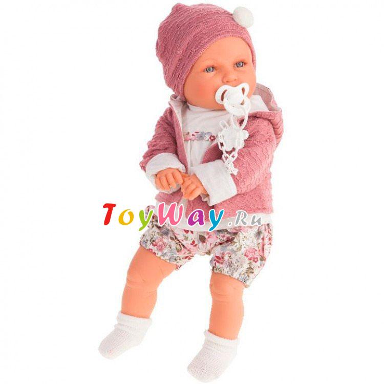 Купить Интерактивная кукла - Элисеа, плачет, 55 см, Antonio Juans Munecas