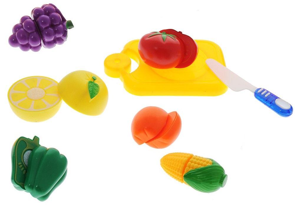 Купить Набор овощей для резки на липучках «Помогаю Маме», 14 предметов, ABtoys