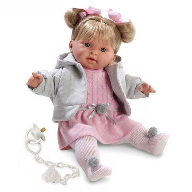 Кукла Пиппа 42 смИспанские куклы Llorens Juan, S.L.<br>Кукла Пиппа 42 см<br>