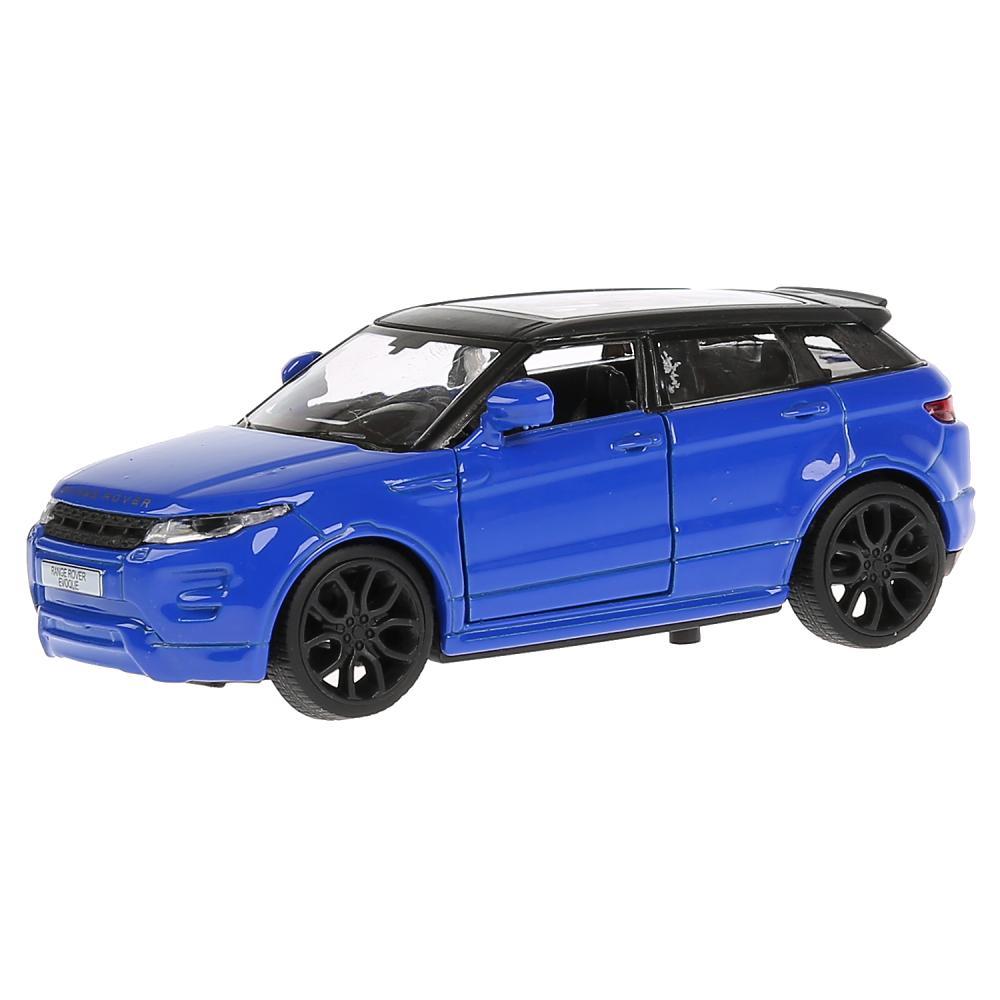 Купить Металлическая инерционная машина - Land Rover Range Rover Evoque, 12, 5 см, открываются двери, синий, Технопарк