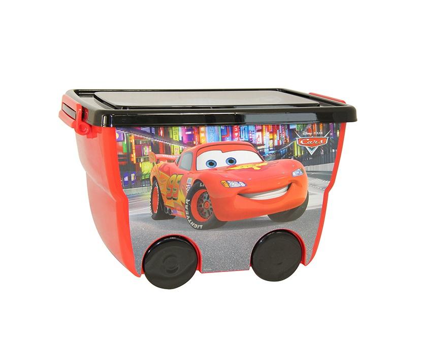 Ящик для игрушек из серии Disney – Тачки, 24 литраКорзины для игрушек<br>Ящик для игрушек из серии Disney – Тачки, 24 литра<br>