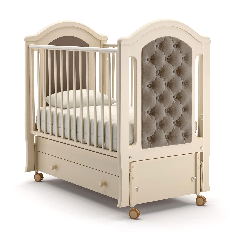 Детская кровать Nuovita Grazia swing продольный, avorio/слоновая кость