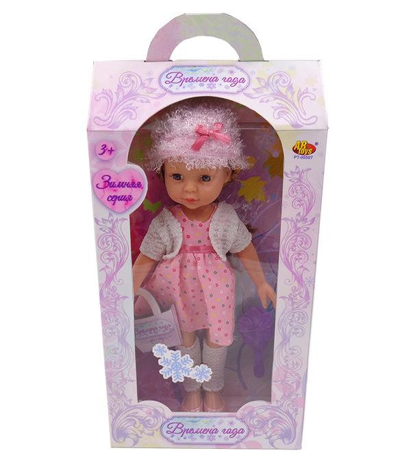 Кукла Времена года, 30 см, 2 видаПупсы<br>Кукла Времена года, 30 см, 2 вида<br>