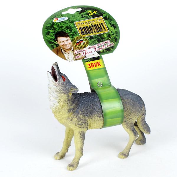 Фигурка волка озвученнаяДикая природа (Wildlife)<br>Фигурка волка озвученная<br>