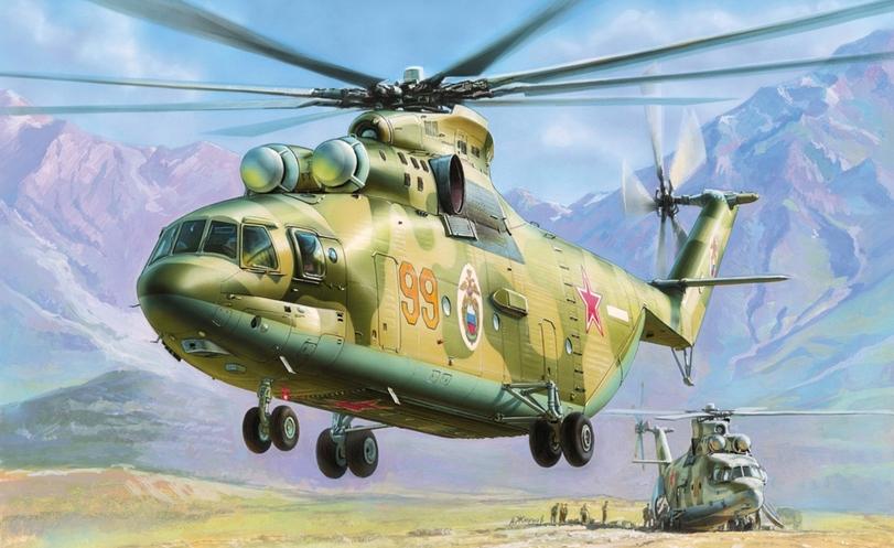Подарочный набор. Модель для склеивания -Вертолёт Ми-26Модели вертолетов для склеивания<br>Подарочный набор. Модель для склеивания -Вертолёт Ми-26<br>