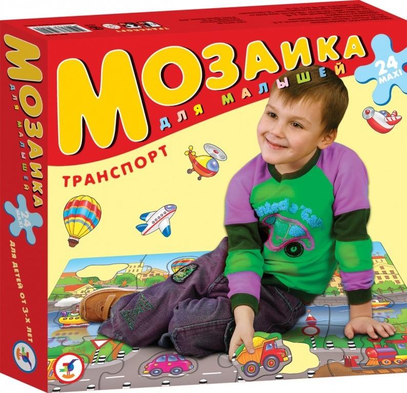 Напольная мозаика для малышей. ТранспортПазлы для малышей<br>Напольная мозаика для малышей. Транспорт<br>