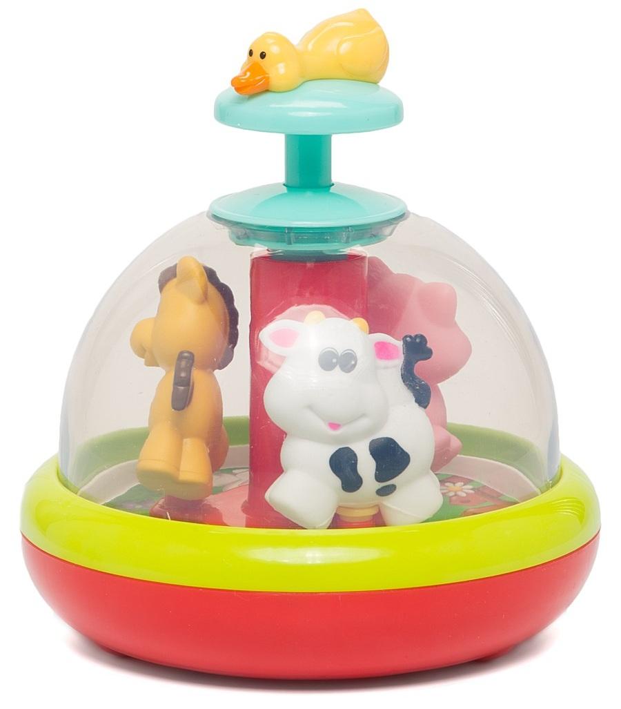 Развивающая игрушка Веселая деревняЮла и карусель<br>Развивающая игрушка Веселая деревня<br>