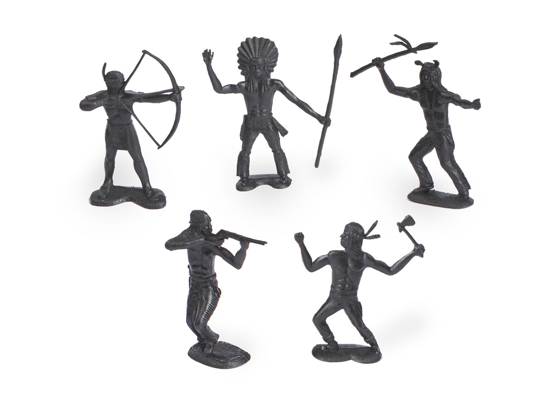 Набор фигурок - Индейцы фото