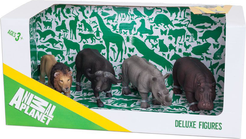 Набор Animal Planet - Африка, 4 штукиДикая природа (Wildlife)<br>Набор Animal Planet - Африка, 4 штуки<br>