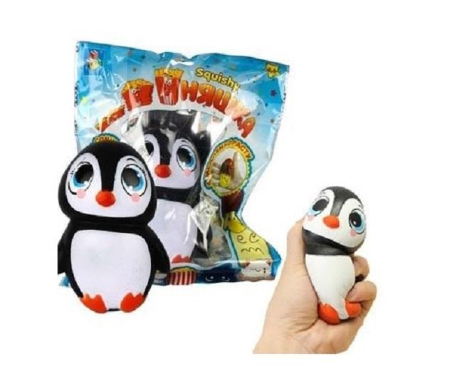 Игрушка-антистресс из серии Мммняшка squishy сквиши – Пингвин