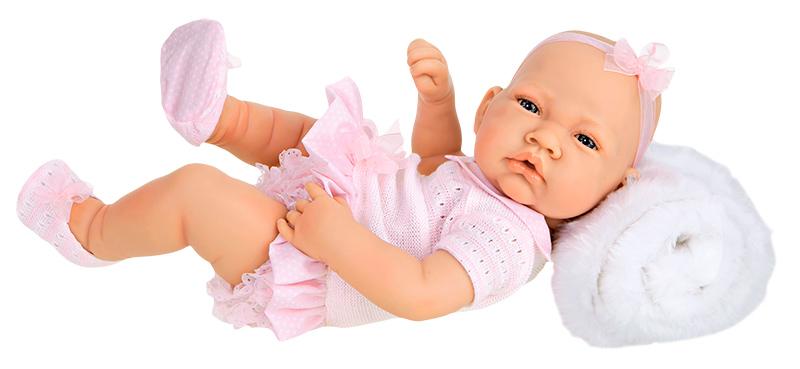 Кукла-младенец Эми, 42 смКуклы Антонио Хуан (Antonio Juan Munecas)<br>Кукла-младенец Эми, 42 см<br>