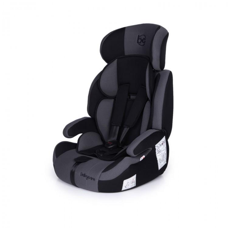 Детское автомобильное кресло Legion группа I/II/III, 9-36 кг., 1-12 лет, цвет – серо-черныйАвтокресла (9-45кг)<br>Детское автомобильное кресло Legion группа I/II/III, 9-36 кг., 1-12 лет, цвет – серо-черный<br>