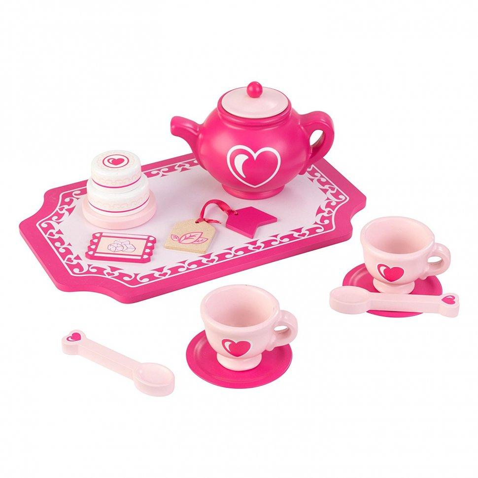 Купить Набор посуды - Праздничное чаепитие, KidKraft