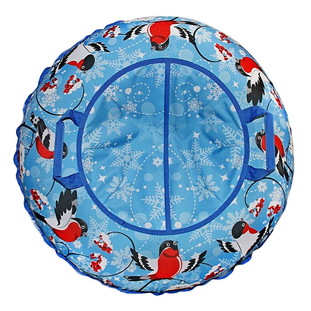 Санки надувные - Тюбинг - Эксклюзив Снегири, автокамера, диаметр 100 смВатрушки и ледянки<br>Санки надувные - Тюбинг - Эксклюзив Снегири, автокамера, диаметр 100 см<br>