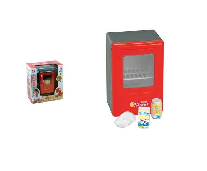 Купить Холодильник со световыми эффектами в наборе с аксессуарами, JUNFA TOYS